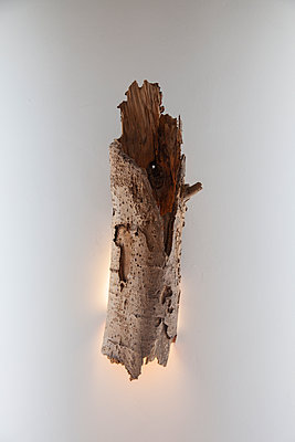 Lamp out of wood - p1514m2109576 by geraldinehaas