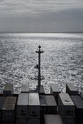 Ärmelkanal, Containerschiff - p930m2148415 von Ignatio Bravo