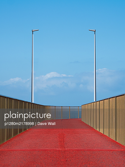 Promenade, viewing platform on the waterfront, Funchal, Madeira - p1280m2178998 by Dave Wall