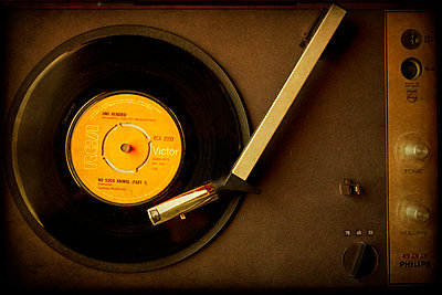Old Vinyl record - p1072m829127 by Kevin Mallia