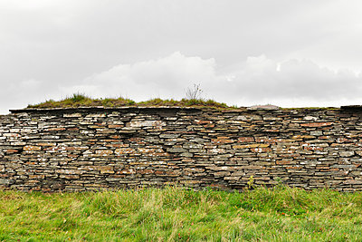 Dry Stone Wall - p1048m1494701 by Mark Wagner