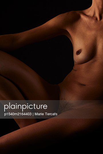Female nude - p1540m2164403 by Marie Tercafs