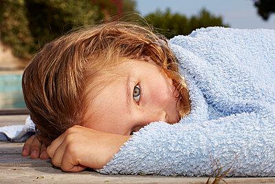 Sommerkind - p1376m1222604 von Melanie Haberkorn