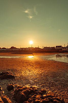 Ireland, Coast at twilight - p1681m2283681 by Juan Alfonso Solis