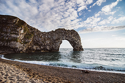 The gate, Durdle door - p1326m2099842 by kemai