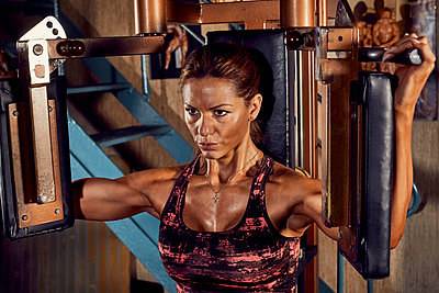 Bodybuilding - p1200m1161342 von Carsten Görling