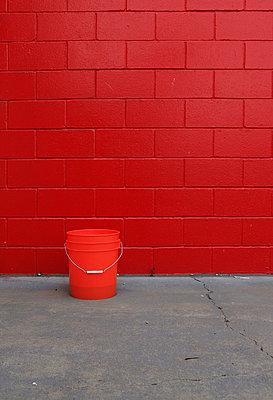Rote Wand - p0452757 von Jasmin Sander