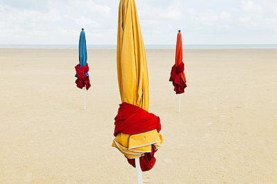 Three Parasols - p1333m1510649 by Gérard Staron