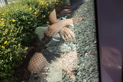 Reflection  - p1479m2116655 by Helio Léon