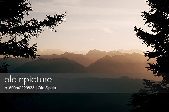 Deutschland, Bayern, Allgäu, Alpen - p1600m2229838 von Ole Spata