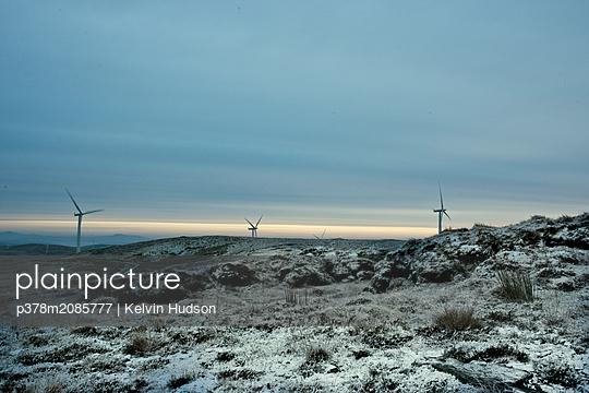 Snowy Turbine - p378m2085777 by Kelvin Hudson