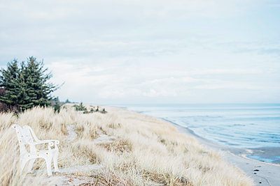 Denmark, Hals, dunes at the Baltic Sea - p300m1189448 by Jana Mänz