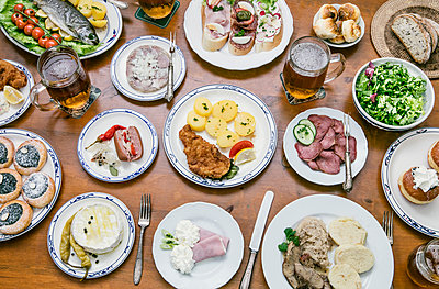 Buffet mit großer Auswahl - p1130m1168926 von Jonathan Kitchen