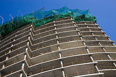 Multi-storey building under construction, Gibraltar   - p4428093f by Design Pics
