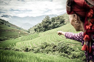 Red Dao of Banh Kim Commune, Sapa District - p934m893188 by Francis Roux photography