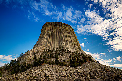 Devils Tower National Monument - p1154m1217558 by Tom Hogan