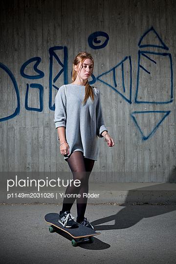 Skaten - p1149m2031026 by Yvonne Röder
