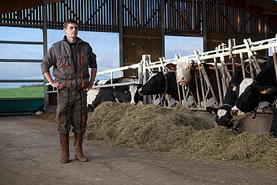 Landwirt - p1058m831597 von Fanny Legros