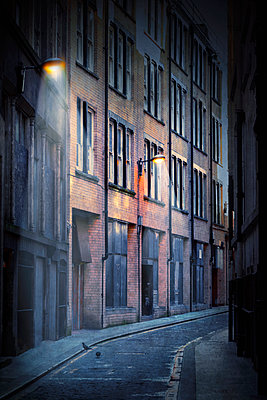 Urban Street - p1080m1167459 by Svetlana Sewell