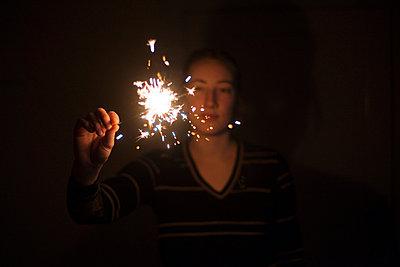 Sparkler - p956m709722 by Anna Quinn