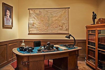 Desk of Stalin - p390m891994 by Frank Herfort