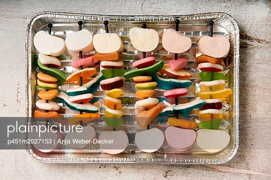 Süßes BBQ - p451m2027153 von Anja Weber-Decker
