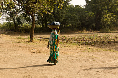 Indian farmer - p162m763133 by Beate Bussenius