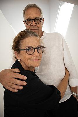 Happy senior couple - p1640m2254769 by Holly & John