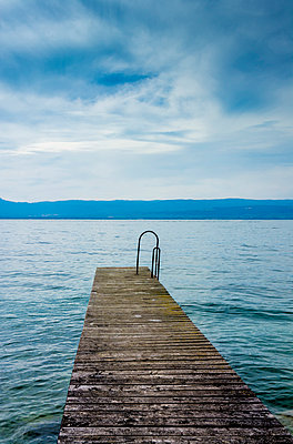 Pontoon, Lake Geneva - p813m1057216 by B.Jaubert