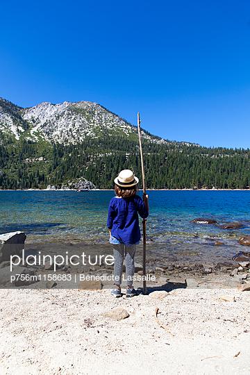 Tahoe City - p756m1158683 von Bénédicte Lassalle