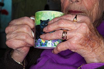 A mug of tea - p1057m813759 by Stephen Shepherd