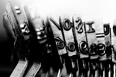 Old typewriter - p450m893639 by Hanka Steidle
