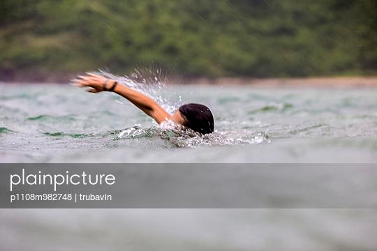Schwimmen - p1108m982748 von trubavin