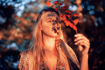 Autumn Girl - p1507m2044042 by Emma Grann