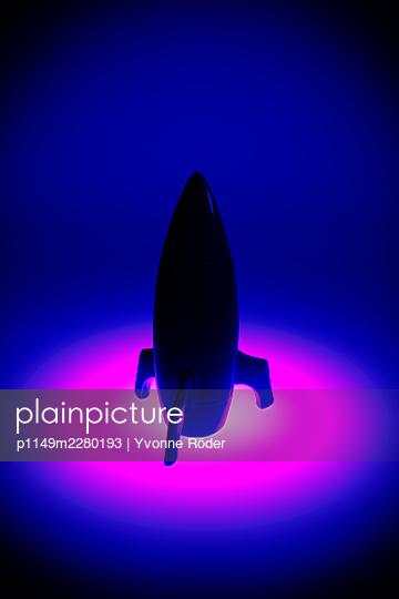 Spaceship miniature - p1149m2280193 by Yvonne Röder