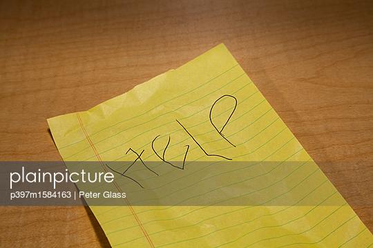 Hilfe - p397m1584163 von Peter Glass