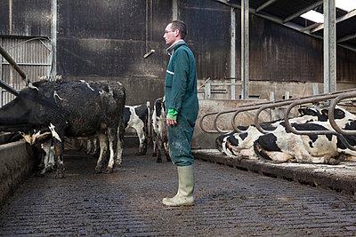 Landwirt - p1058m831593 von Fanny Legros