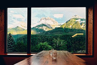 Aussicht auf die Schweizer Berge - p318m1170292 von Christoph Eberle