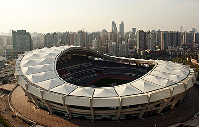 Shanghai Stadium - p910m778252 by Philippe Lesprit