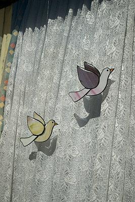 Glaskunst Tauben  - p1199m2100314 von Claudia Jestremski