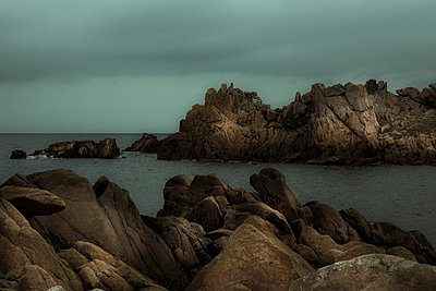Coast of Brittany - p6470094 by Tine Butter