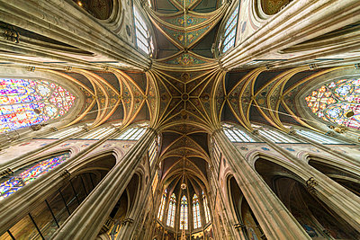 Votivkirche Wien Deckenkonstruktion - p1332m1488550 von Tamboly