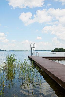 Natur-Schwimmbad - p464m1461674 von Elektrons 08