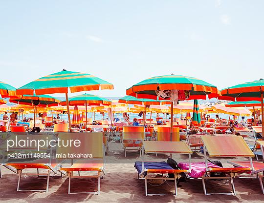 Strand in Positano - p432m1149554 von mia takahara