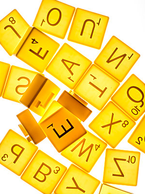 Scrabble cookie cutters - p401m2044399 by Frank Baquet