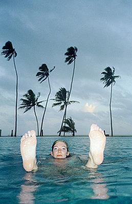 Im Wasser - p4470015 von Anja Lubitz