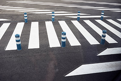 Zebra crossing - p1164m1584641 by Uwe Schinkel