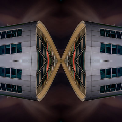 Abstract Architecture Kaleidoscope Bonn - p401m2219852 by Frank Baquet