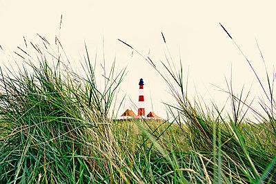 Westerhever Leuchtturm - p1162m951306 von Ralf Wilken