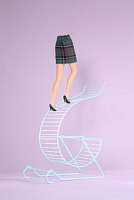 Career ladder instead of exercise wheel - p237m2277984 by Thordis Rüggeberg